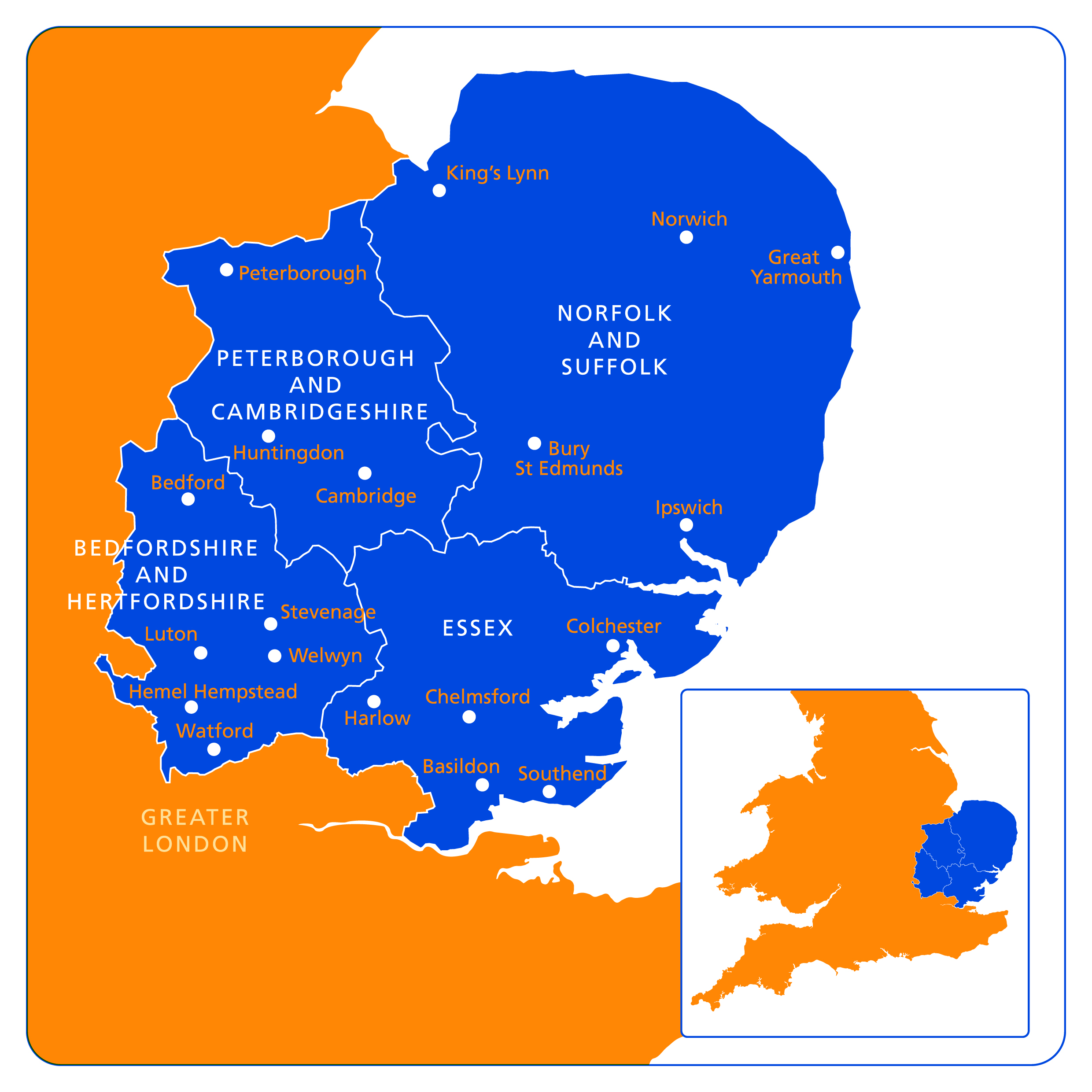 EoE Map Health Education England