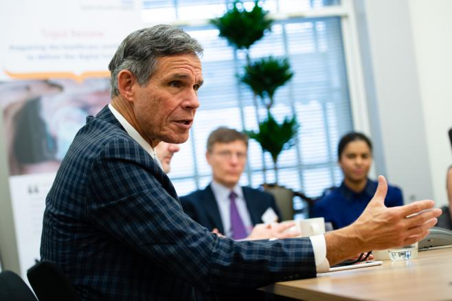 Leading scientist, Dr Eric Topol, visits the UK to kick-off