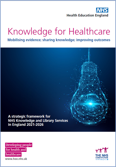 cover of Knowledge for Healthcare