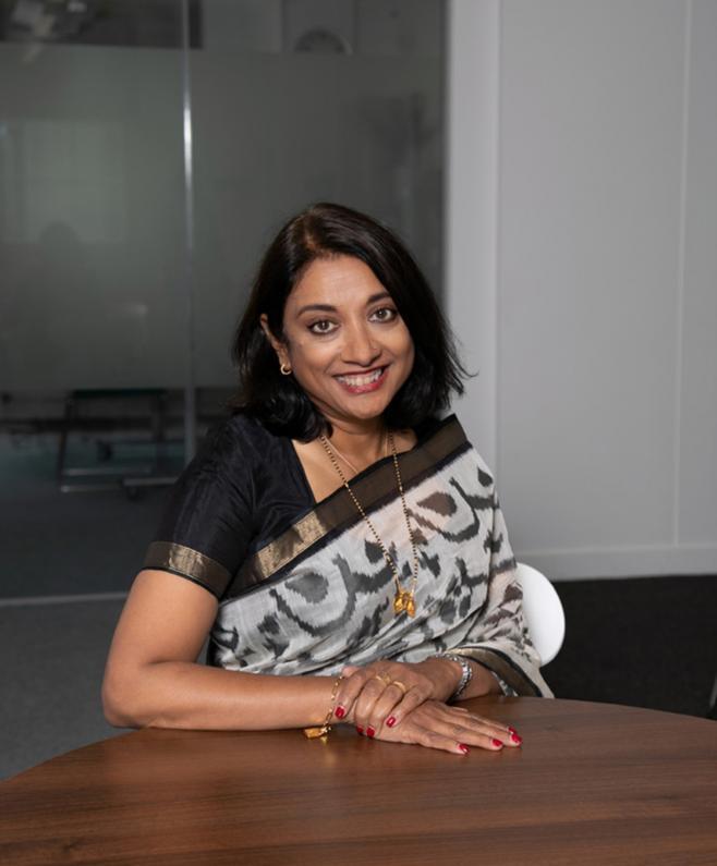 CEO Dr Navina Evans