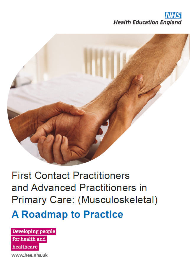 First%20Contact%20Practitioners%20and%20Advanced%20Practitioners%20in%20Primary%20Care%3A%20(Musculoskeletal)%20A%20Roadmap%20to%20Practice%20front%20cover%20